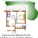 appartamento bilocale conero