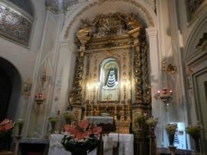 Treia - Chiesa di Santa Chiara - Madonna Nera di Loreto