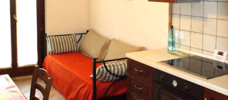 appartamento bilocale casale del conero