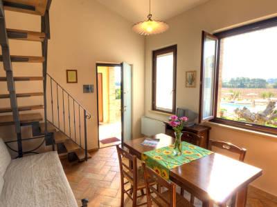 appartamento trilocale casale del conero