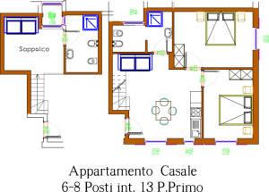 appartamento quadricale conero