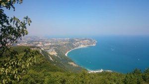 Trekking nelle Marche - I sentieri da percorrere sul Monte Conero belvedere nord