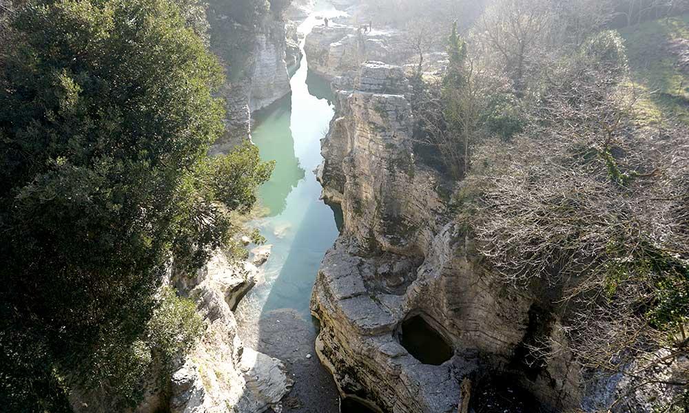 marmitte dei giganti canyon
